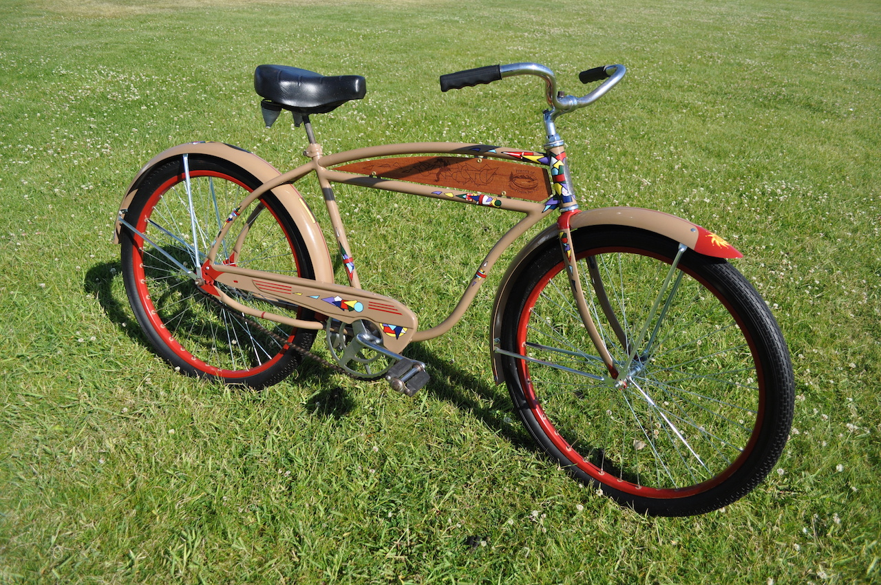 Art you can ride, C Bessler
