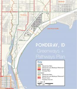 ponderay greenway and pathway plan